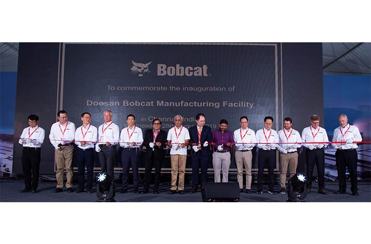 Doosan Bobcat India plant inauguration