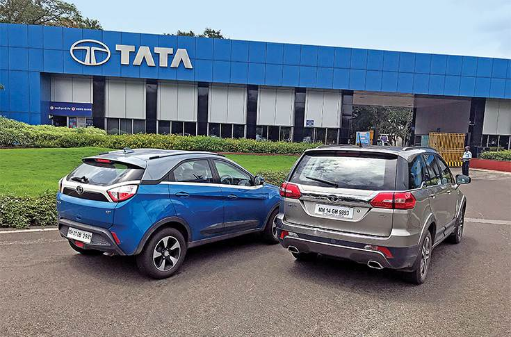 The new crop of passenger vehicle models are helping Tata Motors