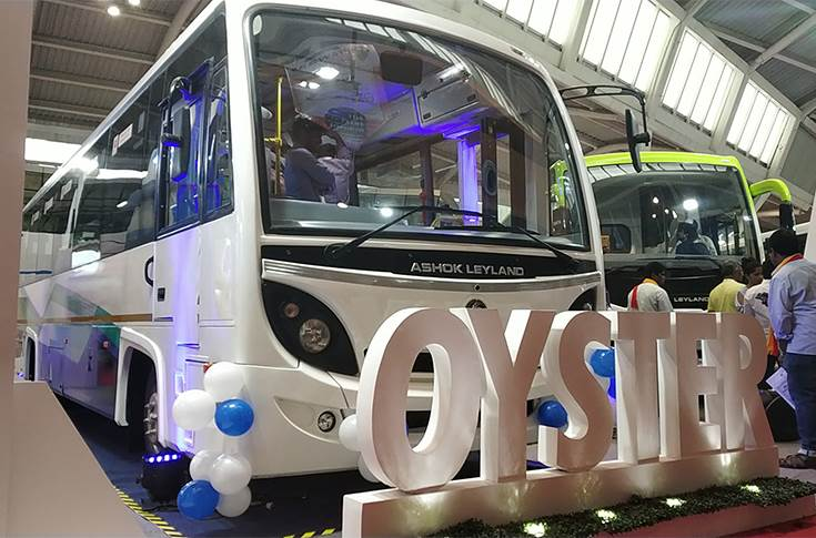Ashok Leyland new midi bus