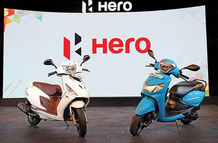 Hero MotoCorp scooters