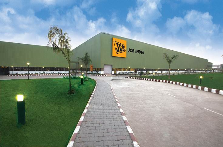 JCB plant at MWC Jaipur