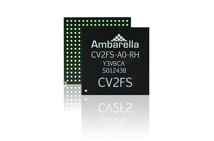 Ambarella autonomous car camera SoC