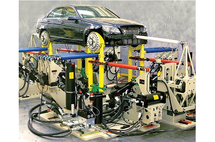 MTS Model 329 Spindle-Coupled Road simulators