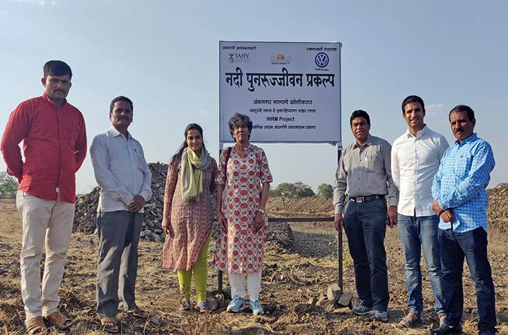 Watershed management project in Latur
