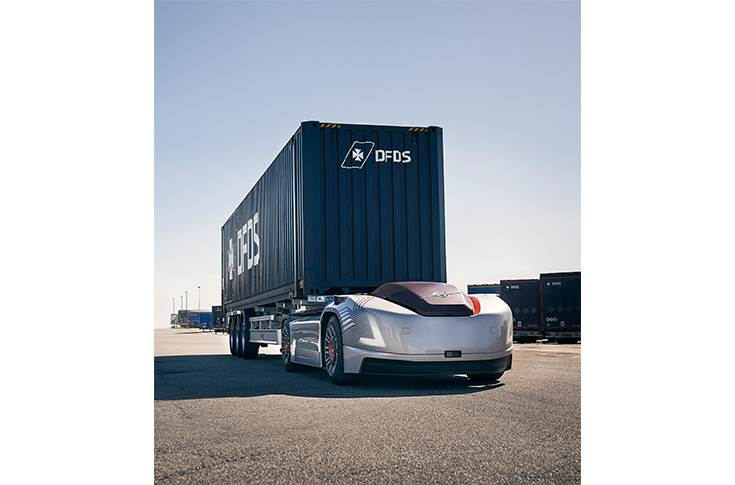 Volvo automated truck