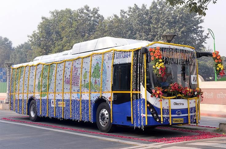 eBuzz K9 electric bus from Olectra-BYD