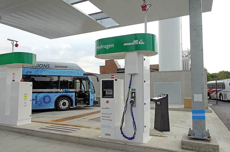 Air Products Hydrogen fuel station