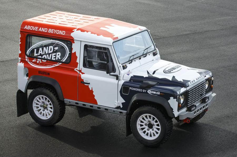 Land Rover Defender by Bowler