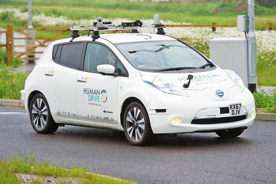 Nissan Leaf for Human Drive